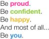 Confident.You, Proud