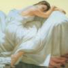 sleeping white