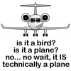 CP - technically it is a plane