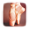 (stock) ballet shoes
