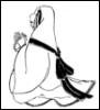 Widow who took the veil.