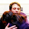 mindy project; danny + mindy hug