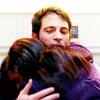 mindy project; danny + mindy hug