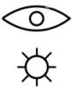 Глаз и солнце