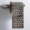 Toilet roll Grated Bum