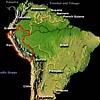 Peru - mapa S.A.