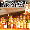 afwiab - a mod walks into a bar