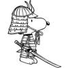 Snoopi Samurai