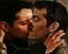 scifiangel: Destiel kiss