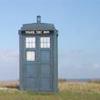 TARDIS in field