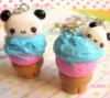 panda icecream charms