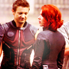 Clint and Natasha