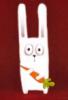 заец с морковкой