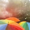 Lucie ~ Dangerous: Rainbow umbrellas