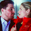 Meredith: Felicity and Oliver - red