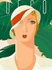 Блондинка 1930 года.