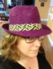 A Purple Straw Hat