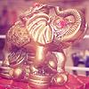 elephant, Chinese, frog