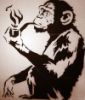 monkey smoke
