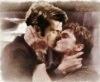 Ten-Jack kissing-old watercolor