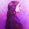 rabidrainbow: padme purple