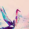 stock: origami crane