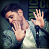 Do you kiss your mother with that mouth?: Jensen hands-up