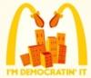I'm democratic it