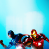 Cap & Iron Man