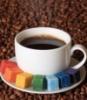 Радужный кофе