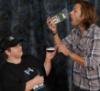 My Jared Op - eating 'moose poop'