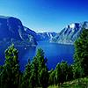 Норвегия. фьорд