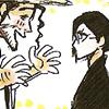 Shunsui harasses Nanao