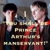 Boys prince Arthur's manservant