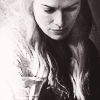 cersei; looking down.