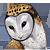 barn owl, pixel, owl