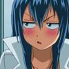 Uchiyama, Akiko: not amused