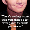 chris colfer :: nothing wrong