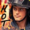 fireman!Neal, hot