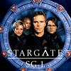 Stargate SG1 - cast & logo