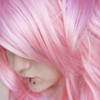 General // hair // cotton candy pink
