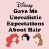 Cordelia Delayne: [stock] disney hair