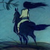 horse, woman, Mulan, Disney, Khan