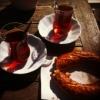 Турция, чай и бублик, Стамбул