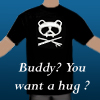 Panda t-shirt hug