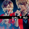 ミランダ (大丈夫): Yabu&Takaki: you & me