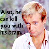 kill with brains