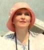 розовая шляпка