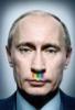 Putin Rainbow nose