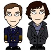 Martin and Sherlock